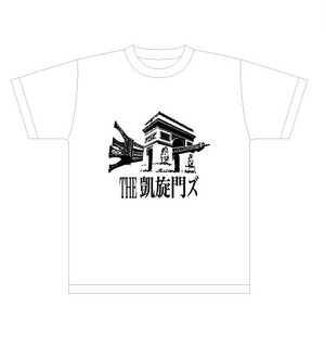 THE凱旋門ズ ロゴ 白