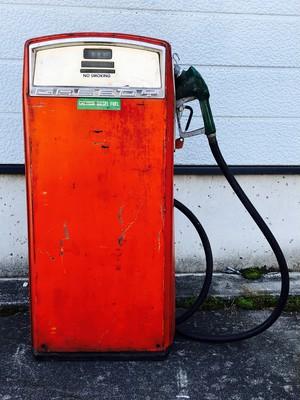 品番0822 シュブロン ガススタンド 1950's GASBOY USA ヴィンテージ