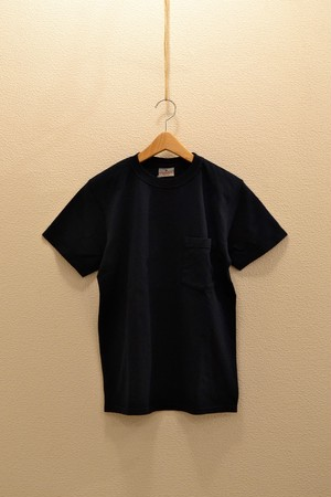 GOOD WEAR - Crew Neck Pocket T-Shirt (Navy)