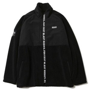 "RUDIE'S / ルーディーズ |【SALE!!】"" PHAT FLEECE JACKET "" - Black/Black"