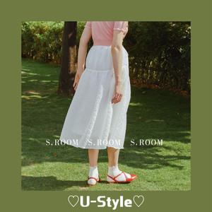 【即日発送】daisy tulle skirt・J153