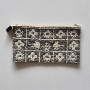 ポーチ ヤノフ村の織物 (D)