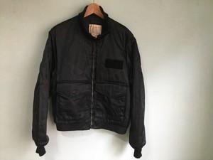 アメリカ製 golden fleece ゴールデンフリース G-8フライトジャケット 黒 ブラック ゴンズジャケット 42 90s OLD