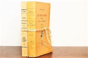 LE COMTE MOLÉ -2set-/洋書ディスプレイ