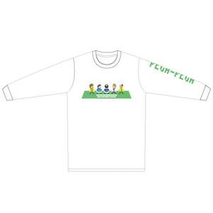 "PEGA-PEGA ロングスリーブ Tシャツ "" livremente"" GREEN"