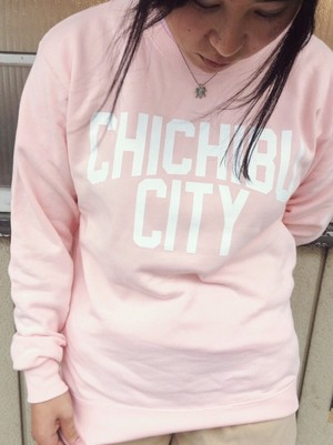 CHICHIBU CITY Sweat Pink Size-M