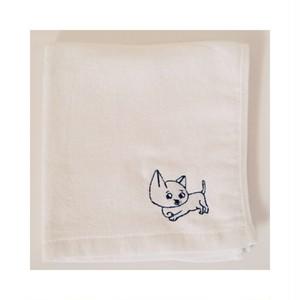 くちまわりよごれたろう hand towel