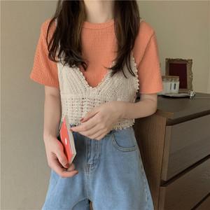 ビスチェ付Tシャツ