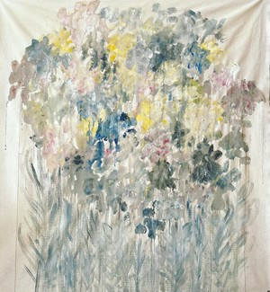 Tapestry/flowers