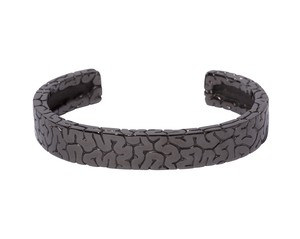 Board Brain Bangle  Black-Coating
