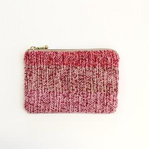 【手織り】ミニポーチ/textile by KOBO-SYU