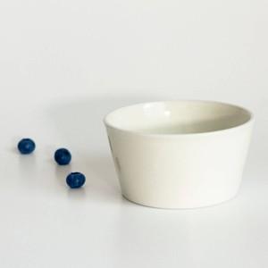 「シエル Ciel」きほんのうつわ 小鉢 ふた付レンジパック(キャニスター) 直径約10×深さ6cm ホワイト 美濃焼 520133