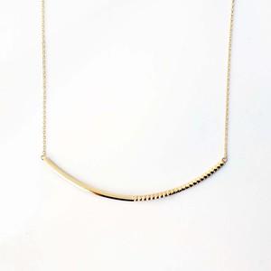 Rock Gold Necklace / L(N182-YG)