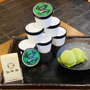 《関西限定》抹茶アイスクリーム『濃い』6個セット 送料込み