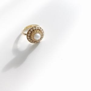 No.95 vintage pearl ring