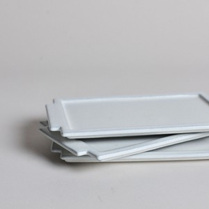 rpm / トレイ プレート 【中】 白妙〈陶器 / 食器 / お皿 / コイントレー〉