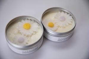 精油が選べる【Aroma Soy Candle】Margaret〈soy/cancan:L size〉