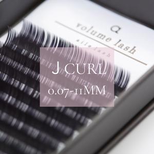 EX098 0.07Jカール11ミリ Volume lash