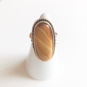 """""""AVON"""" Shimmering Sands ring #7-8[r-118]"""