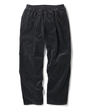 FTC / CORDUROY EASY PANT -CHARCOAL-