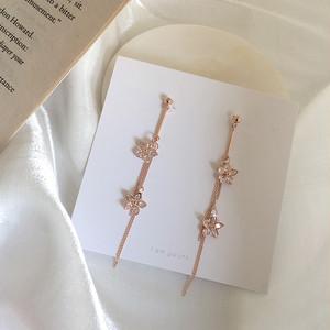 【小物】韓国風花穗状ファッションピアスイヤリング