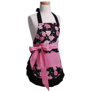 Flirty Aprons 子供エプロン Midnight Bloom