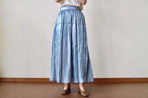 サテン スカート