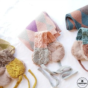 «sold out» Earmuffs & scarf 耳当てとマフラーのセット