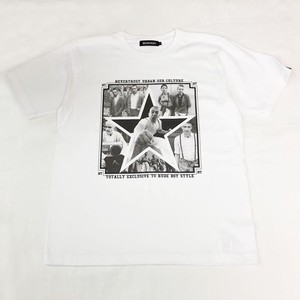 SKINHEADS PHOTO T-SHIRT White