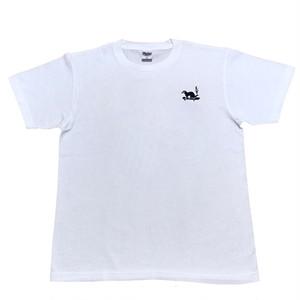 LY:Original T-Shirts ホワイトボディー (Back Print) ① 2020001BPW