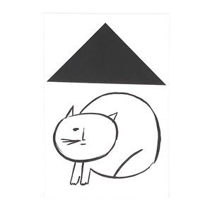 ポストカード(CAT IN HOUSE) by SATO ASAMI