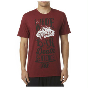 FOX RACING テック Tシャツ Wide Bar
