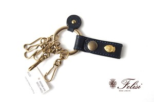 【Sold Out】フェリージ|Felisi|キーリング|9000/A|ネイビー