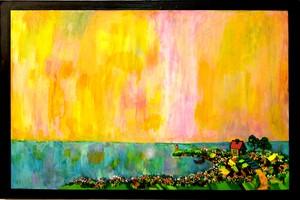 油彩画 | ドリームフィッシング
