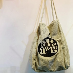 SPRAWLS*コーデュロイapple logo medium bag