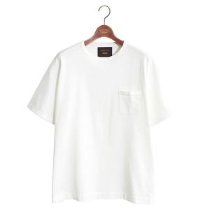 1 pocket Loose Tee -white <LSD-AI3T5>