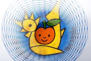 "Dick Bruna -Air Vase ""the Apple""-"