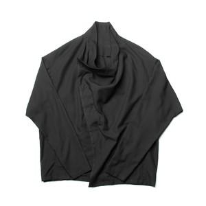 627SHM1-BLACK / カバードシャツ