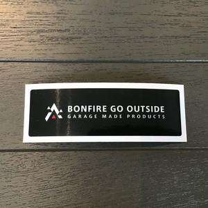 BONFIRE GO OUTSIDE ステッカーS