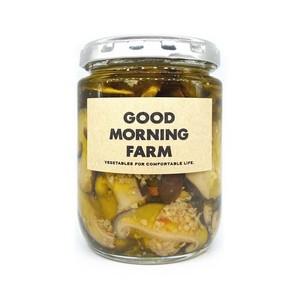 しいたけオイル煮 HOT(大)|GOOD MORNING FARM