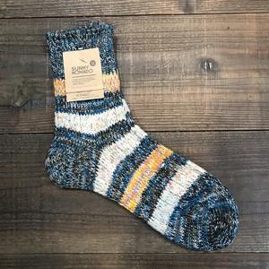 奈良靴下 TMSO-097 ネイビー