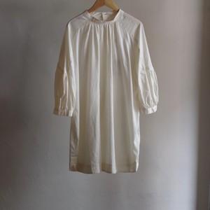 Select Item / Back Cross Shirt / #2 White / バッククロス シャツ