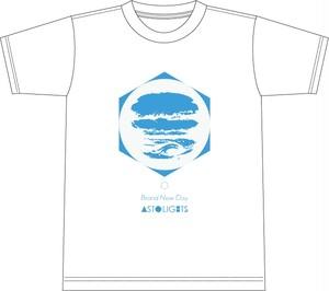【1/25会場受け取り分】AstoLights - BRAND NEW DAY T shirt (White)