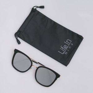 Iris Mirror Sunglasses / BK