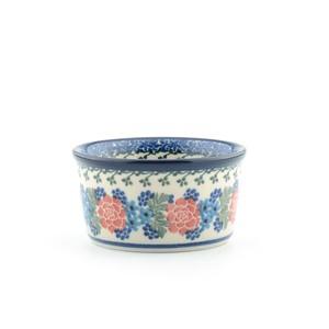 ポーランド陶器 ココット プリン皿 ダブルデライト