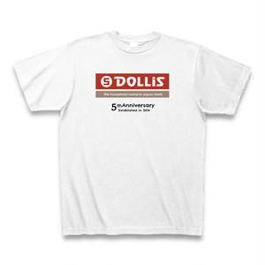 DOLLiS 5周年記念Tシャツ(赤)