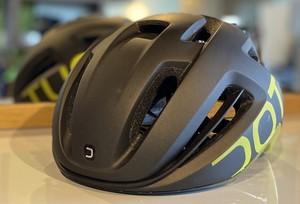 【フリー】DOTOUT (ドットアウト)    ■    COUPE PRO(クーペプロ) ヘルメット マットブラック×シャイニーイエロー