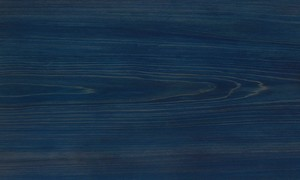 桧ツキ板 板目 0.6mm厚 30*21cm 染色青