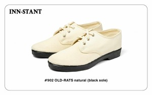 #902 OLD-RATS natural (black sole) INN-STANT インスタント 【消費税込・送料無料】