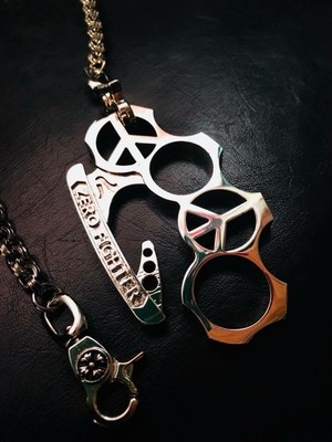 ZERO FIGHTER × CENTER JAPAN knuckle chain